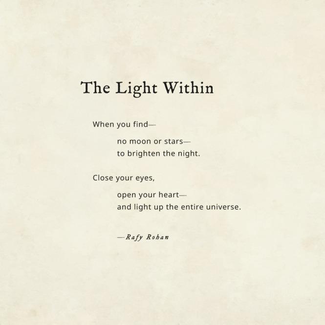 The light within - Rafay Rohan